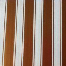 11x8 Gold White Striped Hat Box